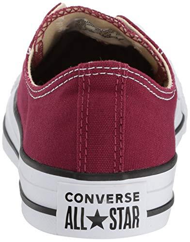 Star Taylor Seasonal Ox Unisex Chuck Sneakers erwachsene All Rot Converse maroon xIq47wI