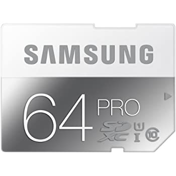 Samsung 64GB PRO SDXC Memory Card - Class 10 (MB-SG64D/AM)