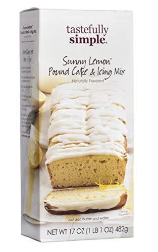 Tastefully Simple Sunny Lemon Pound Cake & Icing Mix - 17 oz