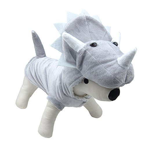 Alfie Pet by Petoga Couture - Wren Triceratops Costume - Size: Large ()