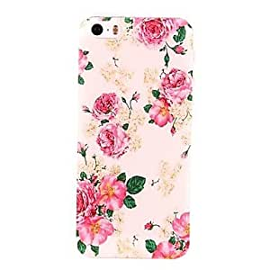 TY Charming Flowers Pattern PC Hard Case for iPhone 5/5S