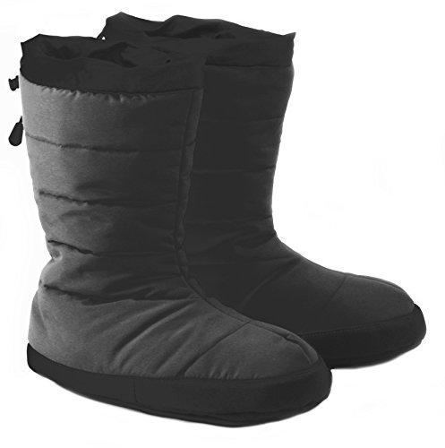 Polar Feet Puffins All Black (Cabelas Rubber Boots)
