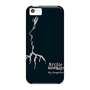Iphone 5c ZZZ7025JMyf Support Personal Customs Beautiful Arctic Monkeys Band Image Anti-Scratch Hard Phone Cover -CristinaKlengenberg