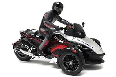 Bright 110 Radio Control Can-am Spyder With Rider Colors May Vary by New Bright