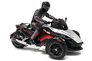 New Bright 1:10 Radio Control Can-am Spyder With Rider (Colors May Vary)