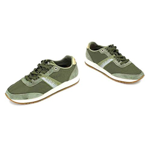 Scarpe Napapijri Damen Rabina Sneaker Grün (kaki)