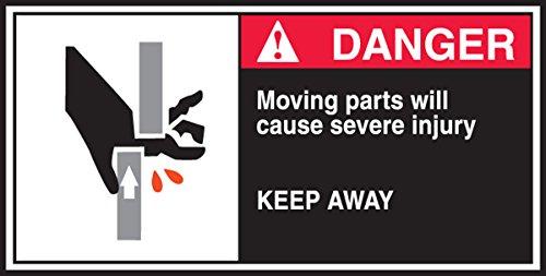 (Accuform Signs LECN172 CEMA Safety Label, Legend