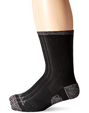 Men's 3 Pack Temperature Management Crew Socks