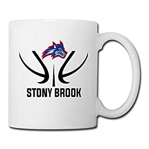 Pegginaro Novelty Stony Brook University Seawolves Logo Coffee Mug
