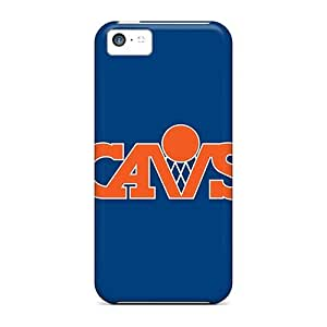 Anti-scratch And Shatterproof Nba Cleveland Cavaliers 5 Phone Cases For Iphone 5c/ High Quality Tpu Cases