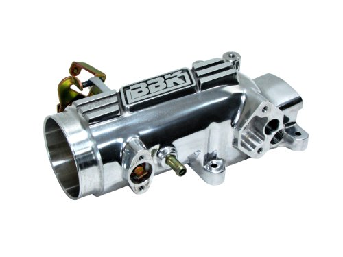 (BBK 17800 78mm Throttle Intake - High Flow Power Plus Series for Ford Mustang GT 4.6L 2V - Polished Finish)