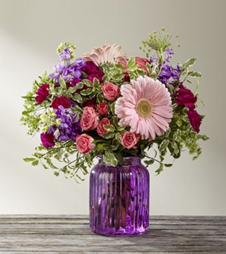 Purple Prose Bouquet OccGifted