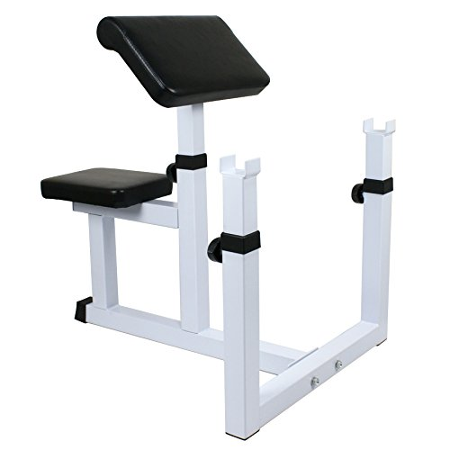Zeny Fitness Preacher/Arm Curl Adjustable Weight Bench Attachment Dumbell Bicep (#3)