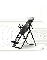 SportPlus, zwart, inversiebank, opvouwbare, inversietafel met 6 inversiehoeken, strekbank om de wervelkolom te ontlasten, gebruikersgewicht tot 135 kg, rugstrekker, veiligheid getest, SP-INV-010-B