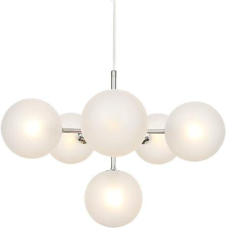 Modern Chandeliers Chrome Chandelier Lighting Globe Pendant Light Fixture 3 Light