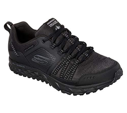 Escape Nero Skechers Uomo Plan Sneaker dwwxOY