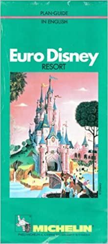 Amazon Fr Plan Guide Eurodisney En Anglais Michelin