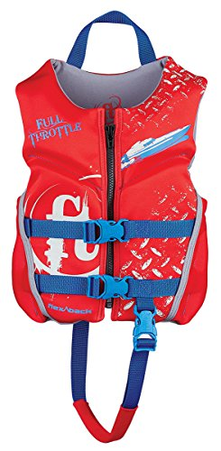 Full Throttle Child Hinged Rapid-Dry Flex-Back Vest, ()