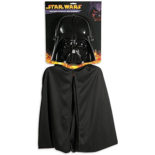 Darth Vader Star Wars Child Mask Cape