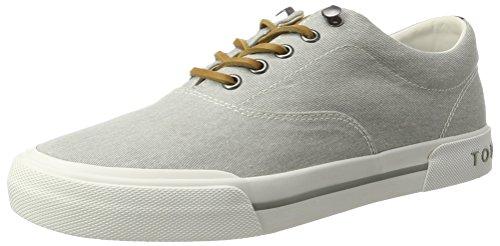 Tommy Hilfiger de Sm Y2285armouth 1d2, Zapatillas para Hombre Gris (Diamond Grey 001)