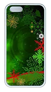 Colorful Christmas Decoration 2 TPU White Cheap price iphone 5S case for Apple iPhone 5/5S