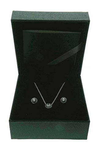 PANDORA Classic Elegance Jewelry Gift Set, Necklace & Earrings, Clear CZ B800645 by PANDORA