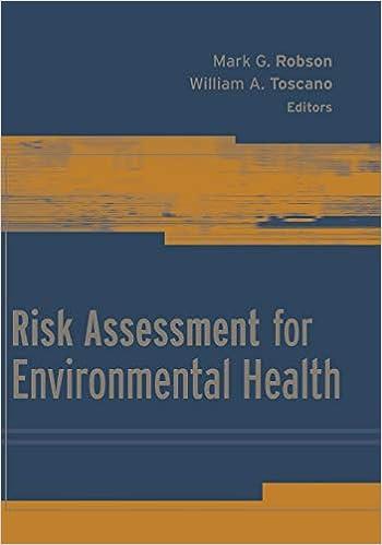 Risk Assessment For Environmental Health Ebook