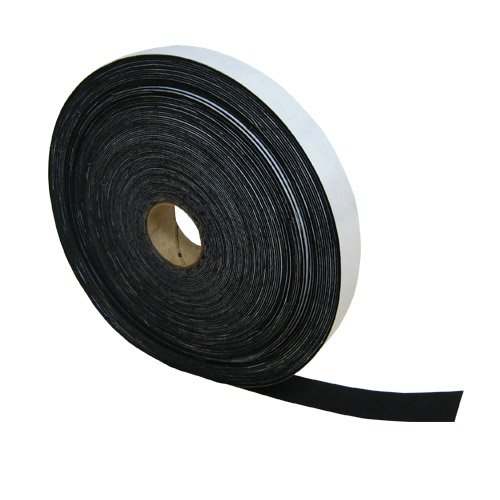Acrylic Felt Stripping with Adhesive : Black The Felt Store