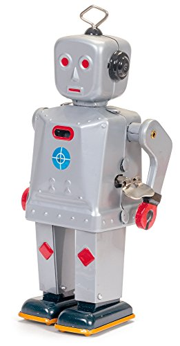 Schylling Men's Sparkling Mike Robot, Multi, One Size (Schylling Robot)