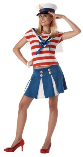 Teen Cruise Ship Cutie Sailor Costume - Teen 3-5