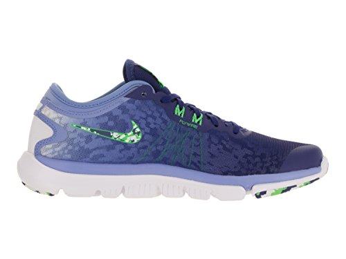 Nike Donna Flex Supreme Tr 4 Cross Trainer Blu Royal / Bianco / Verde Tensione