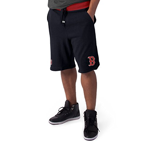MLB Boston Red Sox Men's Post Up Shorts, Fall Navy, Medium