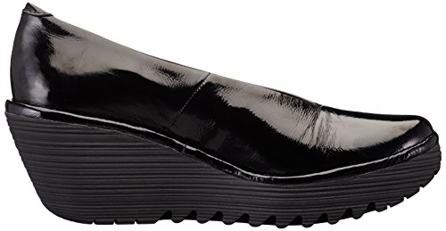 London Pump Women's Black Yaz FLY Luxor Wedge dngZdq