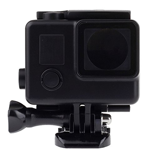 Vicdozia Blackout Waterproof Housing Case Underwater Black Diving Shell Box Protective Cover for GoPro Hero 3 3+ 4