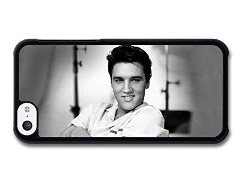 Elvis Presley Smile Portrait coque pour iPhone 5C