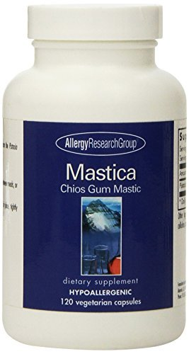 Allergy Research Group Mastica Chios Gum Mastic -- 500 mg - 120 Capsules by Allergy Research - Malls Greece Shopping In