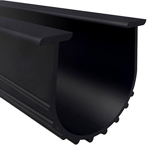 Loobani Garage Door Bottom Weather Stripping Rubber Insulation Seal Strip Replacement, 5/16
