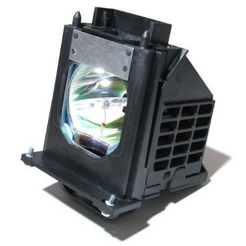 915P061010 - Lamp With Housing For Mitsubishi 915P061010, WD-65733, WD-57733, WD-65734, WD-73733, WD-65833, WD-73833, WD-57734, WD-73734, WD65733, WD-Y657, WD-57833, WD-C657, WD73733, WD65734, WD57733, WD73833, WD73734 TV's (915p061010 Lamp)