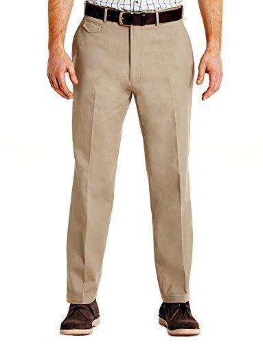 Chino Pantaloni Uomo Beige Di Da Cotone C0w8Cq