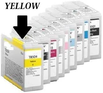Cart. Plotter Comp. (c13t850400) para Epson SureColor sc-p800 (80ml) Yellow: Amazon.es: Electrónica