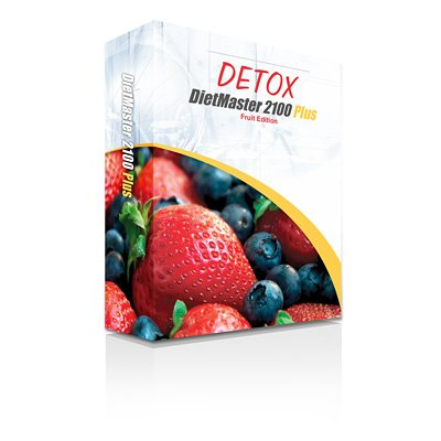 DietMaster 2100 Plus Nutrition Software - DETOX Fruit Edition Diet Software, Awarded 2013 Best Diet Software - Top Ten Reviews