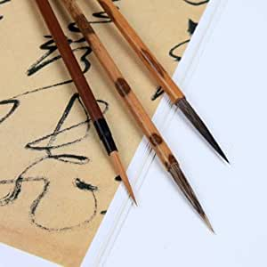 Chinese Calligraphy Sumi Drawing Kanji Brush