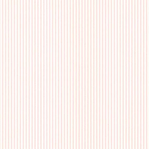 Manhattan Comfort NWPR33803 Spokane Vinyl Thin Spotted Stripe Wallpaper, Pink