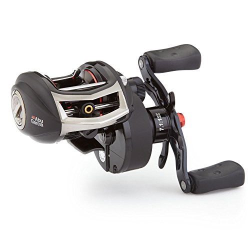 Abu Garcia RVO-3SXHSL Revo Low-Profile Baitcast Fishing Reel, High Speed, Left (Baitcast Walleye Rod)