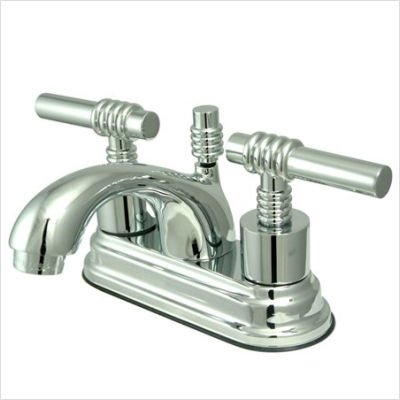 Milano Centerset Bathroom Faucet with Double Lever Handles Finish: Oil Rubbed Bronze