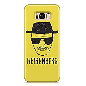 Samsung S8 Case breaking Bad Case HEISENBERG 1 Tv Show Samsung Samsung S8 Cover Wrap AroundLight weight and tough case