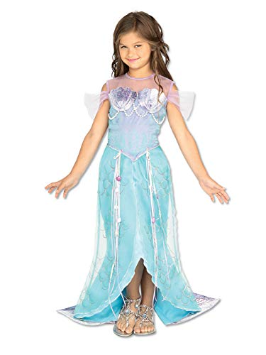 Let's Pretend Child's Deluxe Mermaid Costume, -