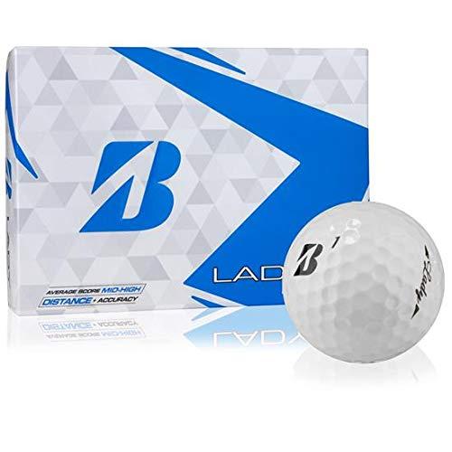 ブリヂストン レディース ホワイト ゴルフボール 2ダースパック   B07J1QSQNG