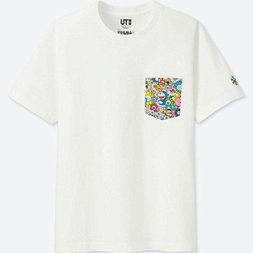♪♪ かわいい! 村上隆 ユニクロ UNIQLO ドラえもん UT Tシャツ M♪ドラえもん展 ゆず ルイヴィトン お花 フラワー