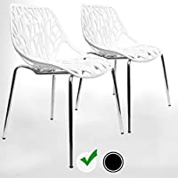 Amazoncom WhiteChairsKitchenDining Room Furniture Home